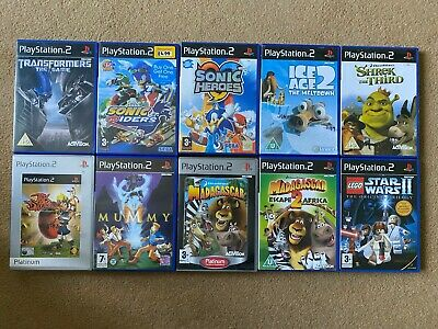 PS2 Games Bundle / Job Lot - Sony Playstation 2 Games