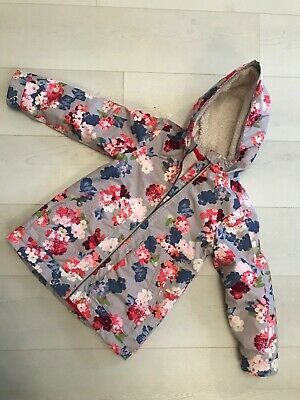Joules girls coat age 7-8 Flower Pretty Great Condition