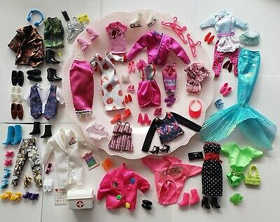 Barbie Ken and same size friends clothes~shoes and accessories lot