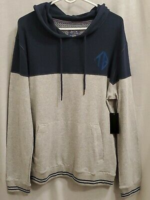 NWT Ted Baker London Mens Pullover Shirt Hoodie Large Active Casual Sweatshirt