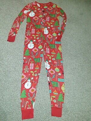 Next Girl Christmas Pyjamas all in one Aged 11