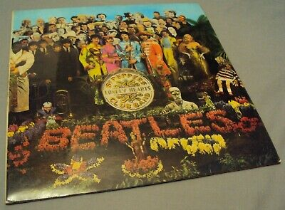 Beatles Sgt Peppers Lonely Hearts Club Band Stereo LP 1 EMI 1967 YEX 637 1