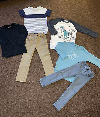 Boys Next Jeans And Tops Bundle 3-4 Years