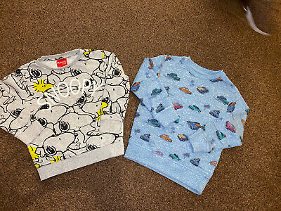 Next Boys Jumpers Age 3-4 Years Snoopy