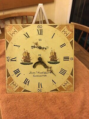 Painted Diail 30 Hour Grandfather Clock Movement