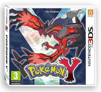 Pokemon Y (Nintendo 3DS, 2013)
