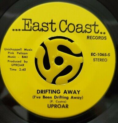 Rock 45 - Uproar - Drifting Away / One Of The Boys - East Coast NM HEAR