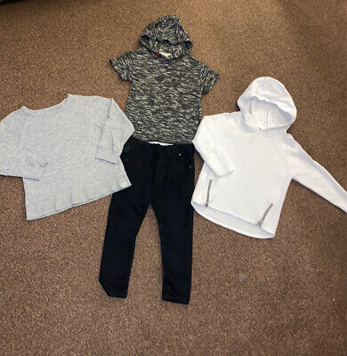 Boys Next & Riverisland Jumpers Tops And Jeans 3-4 Years