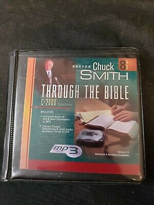 Through The Bible: Complete Audio Bible Commentary AUDIO BOOK CD Chuck Smith MP3