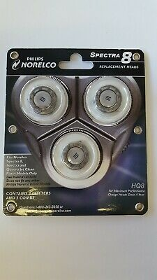 Philips Norelco Spectra 8 Replacement Heads HQ8