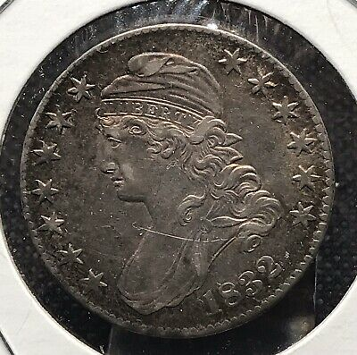 1832 Silver Capped Bust Half Dollar.