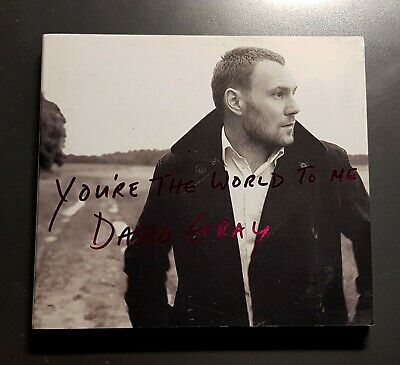 DAVID GRAY YOU'RE THE WORLD TO ME + GREATEST HITS RARE 2 x PROMO CD SET! MINT!