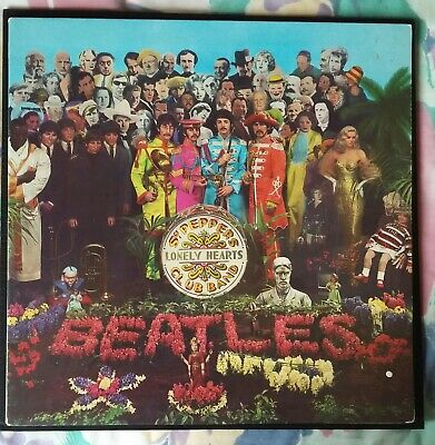 The Beatles - Sgt Pepper's Lonely Hearts Club Band - Vinyl,Lp,Album,Netherlands