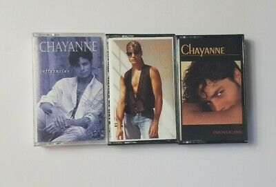 Chayanne Lot of 3 Audio Cassettes, Influencias / Tiempo De Vals / Provocame