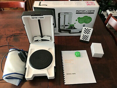 Matter and Form Portable Desktop 3D Scanner with paid add on Quickscan Software