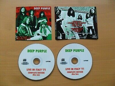 Deep Purple 2CD Live In Italy `71 Complete Edition (Japan Rel.)