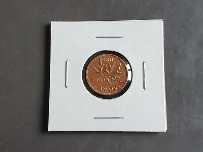 1958 CANADA 1¢ UNCIRCULATED PENNY COIN - Small Cent