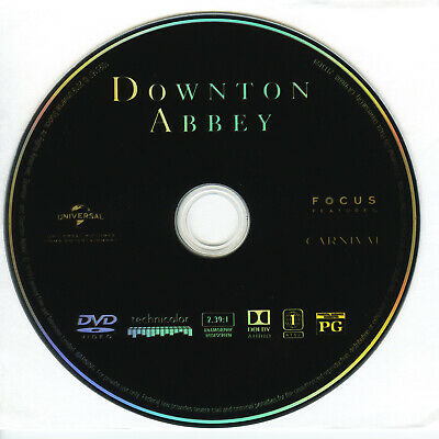 Downton Abbey The Movie * 2019 * Dvd Only * No Case *