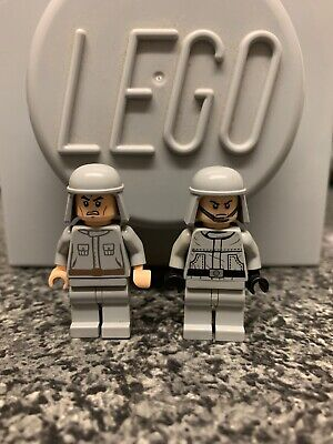 Lego Star Wars Imperial Officers Minifigures Bundle X2