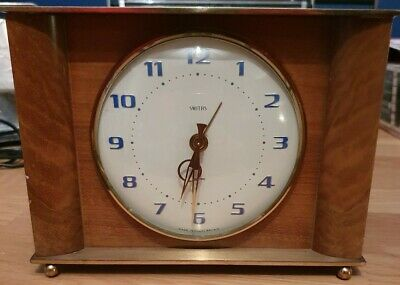 Rare SMITHS SECTRIC Art Deco Clock