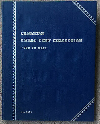 Canada Coins Small Cent Collection   1920 -72   Whitman Folder Missing  3