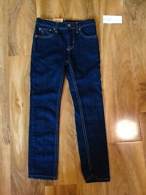 Polo Ralph Lauren Boy's Blue Skinny Fit Denim Jeans Trouser For 6 Years BNWT