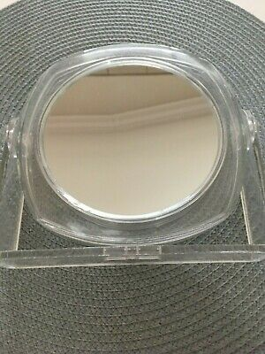 Tabletop Plastic Stand Magnifying Mirror Double Sided