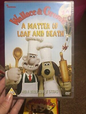Wallace and Gromit: A Matter of Loaf and Death DVD (2009) Nick Park cert PG