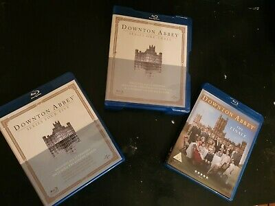Collection Of Downton Abbey Boxset Blu Ray DVDs