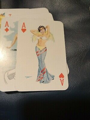 Playing Cards Pin Up Girls 50ziger Jahre Spielkarten Erotik