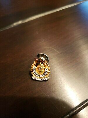 General Motors EMD Electro-Motive Division Lapel Pins 25 years service pin.