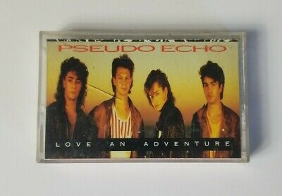 Pseudo Echo Love an Adventure 1987 RCA Records Audio Cassette