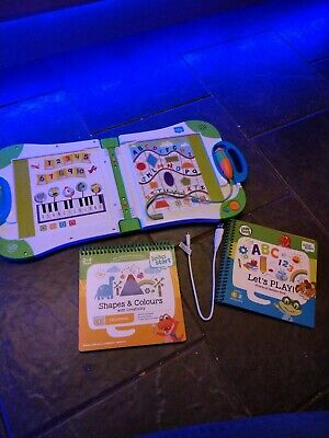 Leap Start Leap Frog Learning System. Complete With 2 books. Preschool.