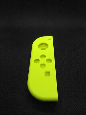 OEM Nintendo Switch Joy Con LEFT NEON YELLOW Complete Shells Housings Set 2453