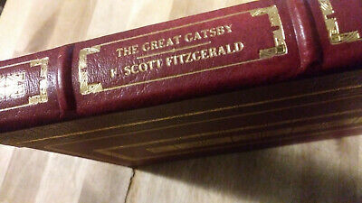 THE GREAT GATSBY by F. Scott Fitzgerald - Franklin Library RARE HEIRLOOM SERIES
