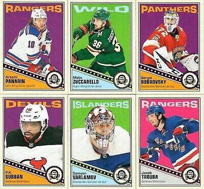 2019-20  O-Pee-Chee Retro Update  You Pick From List