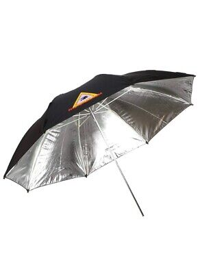 "Photoflex UM-ADH45 45"" Silver Umbrella Adjusts From Round To Oval To Square"