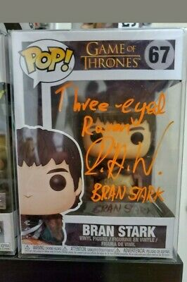 Autographed Game of Thrones- Bran Stark signed by Isaac Hempstead-wright