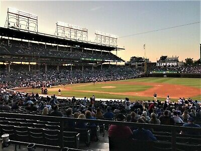 3 Tickets SEC 226 ROW 8 - St. Louis Cardinals at Chicago Cubs tickets 4/10/2020