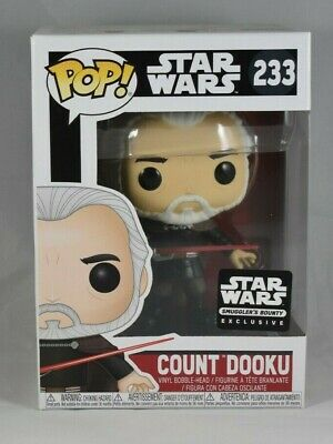 Funko Pop! Star Wars Count Dooku Smuggler's Bounty Exclusive #233