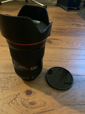 Canon EF 16-35mm f/2.8 L III USM Lens - 0573C002 With Neutral Density Filter