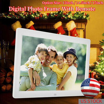 """12""""-17"""" Digital Photo Frame Electronic Picture Video Player Movie Album Dispaly"""