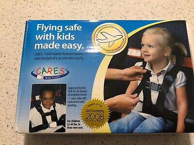 CARES- Child Airplane Travel Harness- Cares Aviation Restraint System   22-44lbs