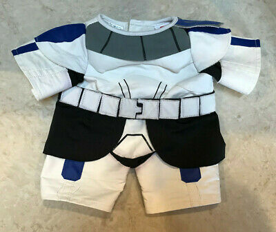 Build A Bear clone storm trooper outfit costume Star Wars