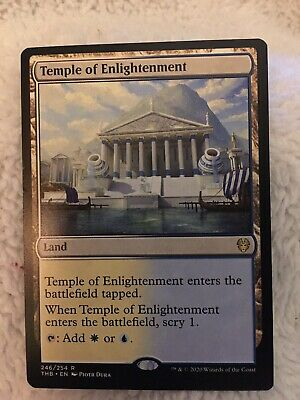Temple of Enlightenment X1 - Theros Beyond Death - Rare - MTG MAGIC