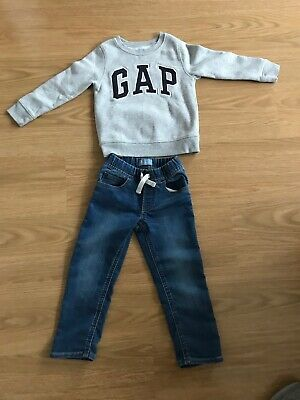 Gap Boys Jumper And Jeans Age 4