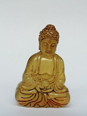 Collection Old China Jade Hand Carving Buddha Statue Amulet Pendant Decoration