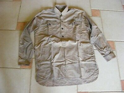 Allemand AFRICAKORPS Allemagne WWII-NEUF Coton GRIS T-Shirt