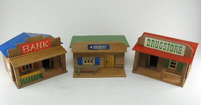 VERO 845 - Little Rock - Bank + Drugstore + Sheriff - DDR Holz Western Haus
