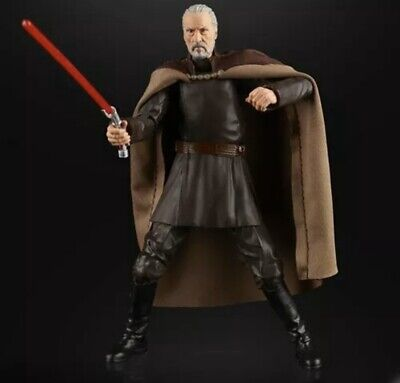 Star Wars The Black Series Count Dooku 6-Inch Action Figure Presale Sealed